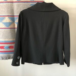 H&M Jackets & Coats - EUC | H&M Cropped Black Suit Top
